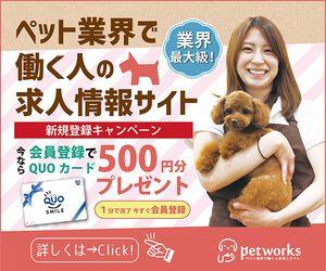 petworks(ペットワークス)の広告
