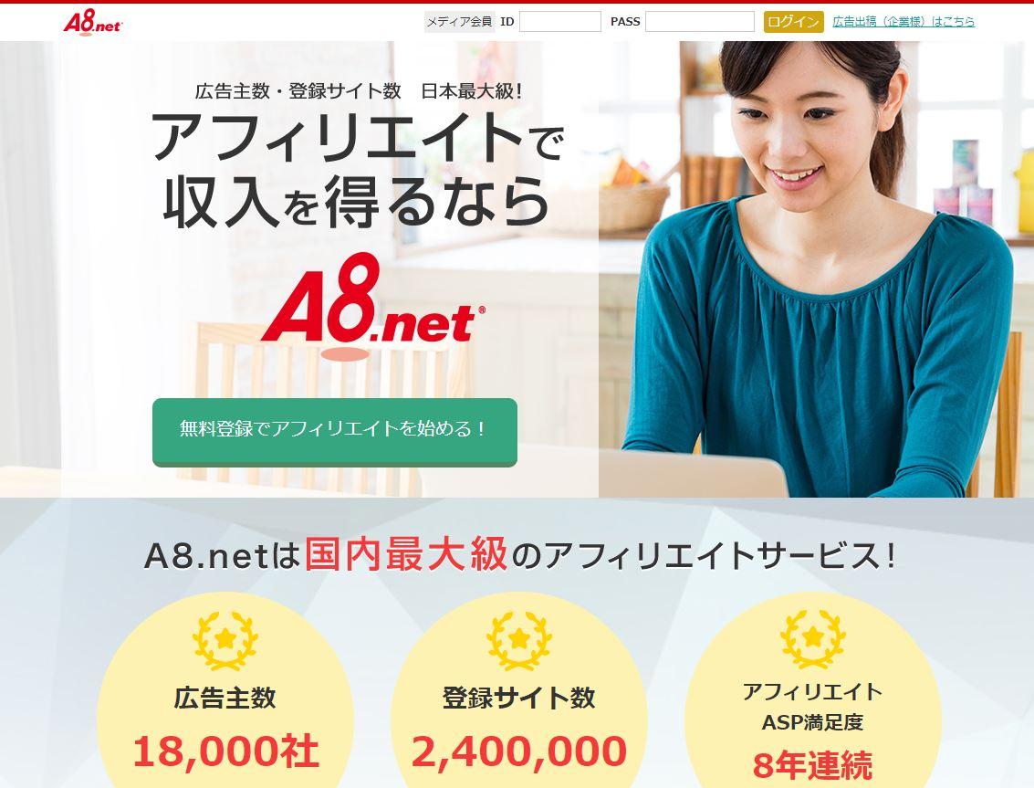 A8.netの広告