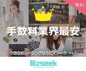 Bizseek(ビズシーク)の広告