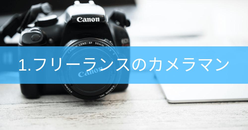 1.フリーカメラマンとしてクラウドソーシングサービスに登録