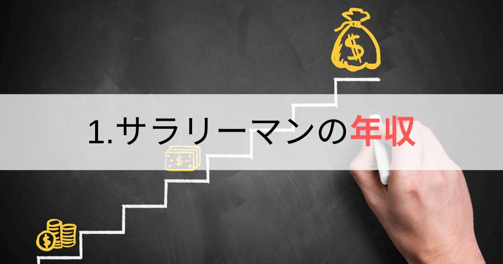 1.サラリーマンの年収「仕事量は増えるのに給料が上がらない」